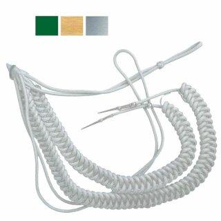 Fangschnüre, 2 Breitgeflechte, 2 Schlingen, mit Stifte, große Ausführung