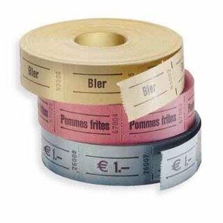 Wertmarken, Standardaufdruck