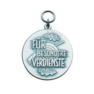"""Medaille 40200, Für besondere Verdienste"""", mit Öse und Ring"""""""