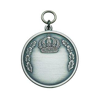 Medaille 51765, altsilber, mit Öse und Ring