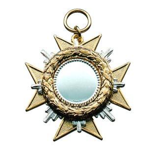Orden 21488, vergoldet, mit Öse und Ring