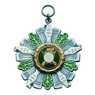 Orden 25418, altsilber, mit Öse und Ring