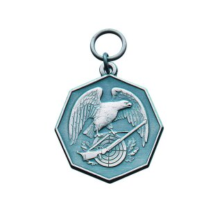 Medaille 23293, mit Öse und Ring