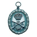 Mini-Orden 58060, altsilber, mit Öse und Ring