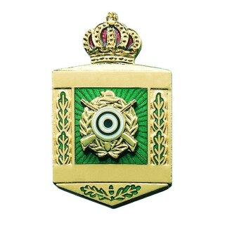 Abzeichen 81908, mit Scharniernadel