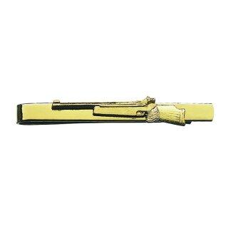 Krawattenschieber 54863, mit Gewehr