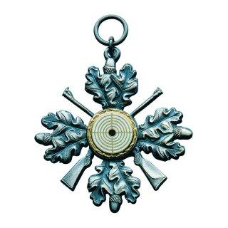 Orden 21069, altsilber, mit Öse und Ring