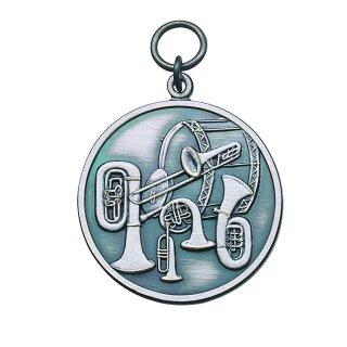 Medaille 54449, mit Öse und Ring
