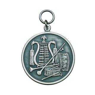 Medaille 54450, mit Öse und Ring