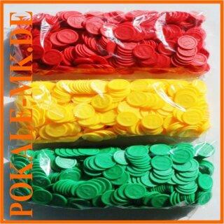 Wertmarken-Chips PFAND, 500er-Beutel