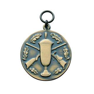 Medaille 21863, mit Öse und Ring, Ø 33 mm