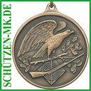 Medaille A46.5, Ø 33 mm, mit Öse und Ring