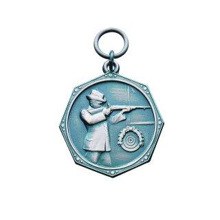 Medaille 23291, mit Öse und Ring