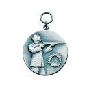 Medaille 11163, mit Öse und Ring, Ø 33 mm