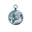 Medaille 14223, mit Öse und Ring, Ø 33 mm
