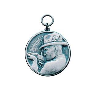 Medaille 14228, mit Öse und Ring, Ø 28 mm