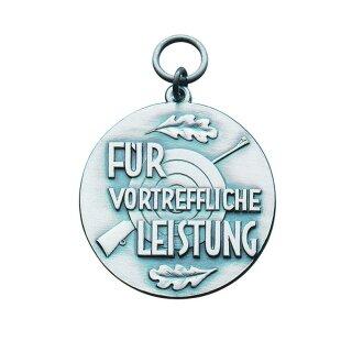 """Medaille 21526, """"Für vortreffliche Leistung"""", mit Öse und Ring, Ø 39 mm"""