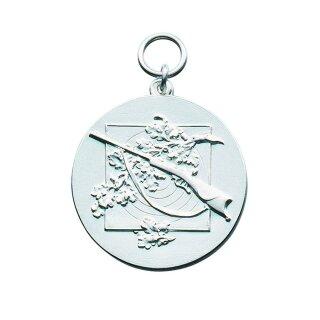 Medaille 12543, mit Öse und Ring, Ø 33 mm