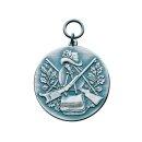 Medaille 62383, mit Öse und Ring, Ø 33 mm
