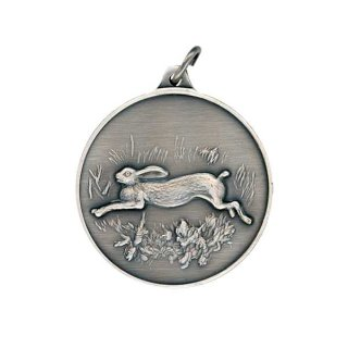 Jagdmedaille Hase